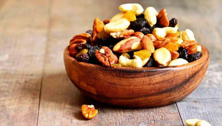 Frutta secca, sempre più consumata