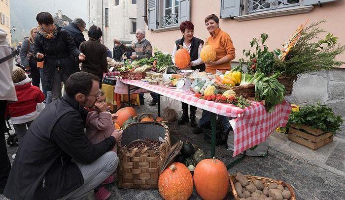 Zucca regina in Valle Vigezzo, colori e sapori alla 13a sagra