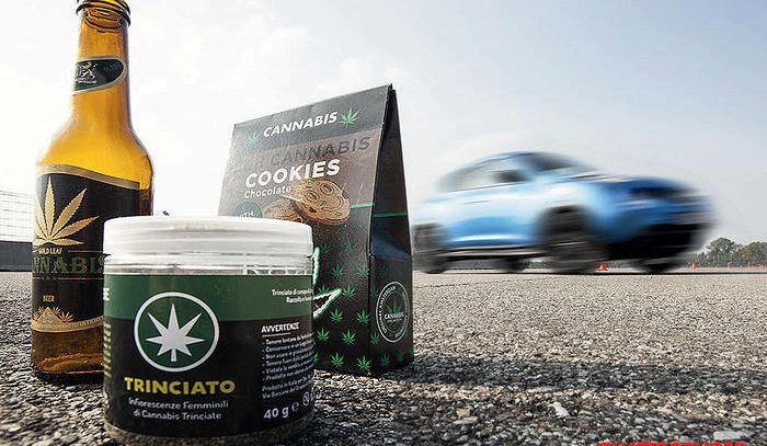Cibi a base di cannabis light influenzano lo stile di guida