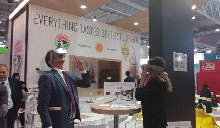 Mozzarella Dop in 3D al Sial, Salone Alimentazione di Parigi