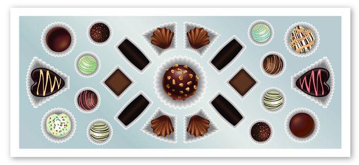 A Eurochocolate una scatola di cioccolatini di 5 metri