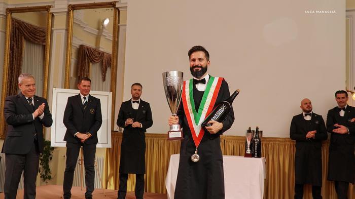Il fiorentino Simone Loguercio è il miglior sommelier d'Italia