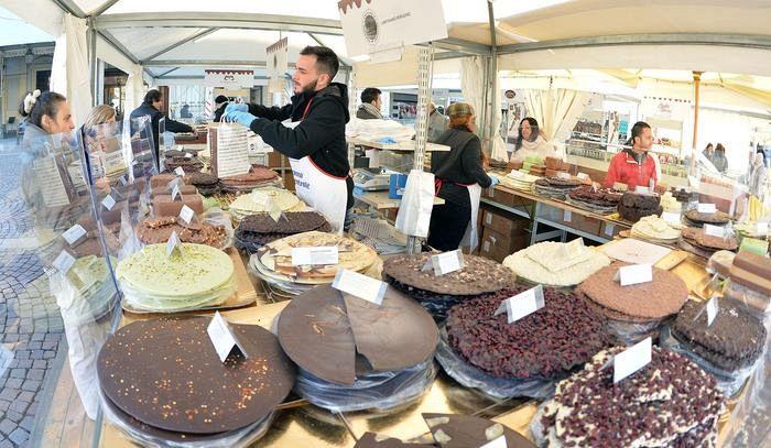 Cioccolatò, dopo 2 anni Torino torna capitale del cioccolato