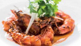 Gamberoni stimolanti al curry