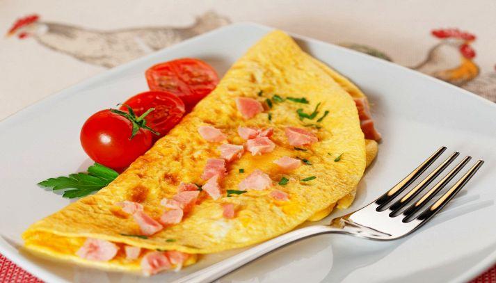 Omelette salate