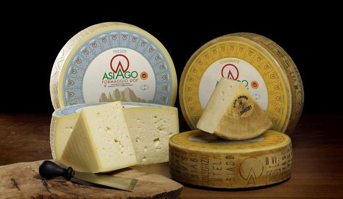 Doppietta Asiago Dop nel medagliere dei World Cheese Awards