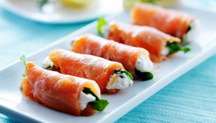Involtini al salmone