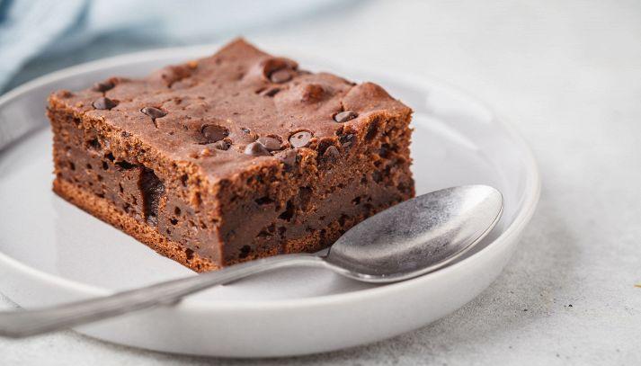 Torta con gocce di cioccolato
