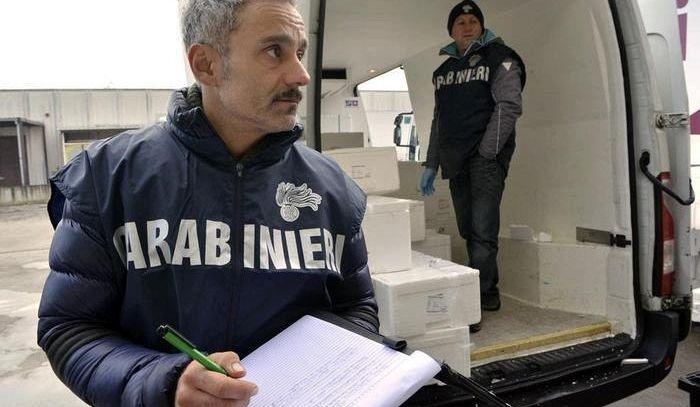 Carabinieri Agroalimentare ,sequestrati 109.810 litri di vino