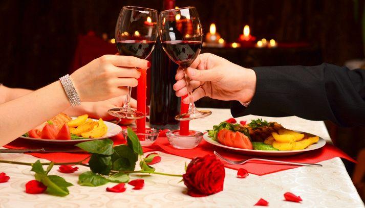 Cenetta romantica a casa