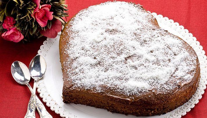 Ricetta Torta Al Cioccolato A Forma Di Cuore.Ricetta Torta A Forma Di Cuore Le Ricette Di Buonissimo
