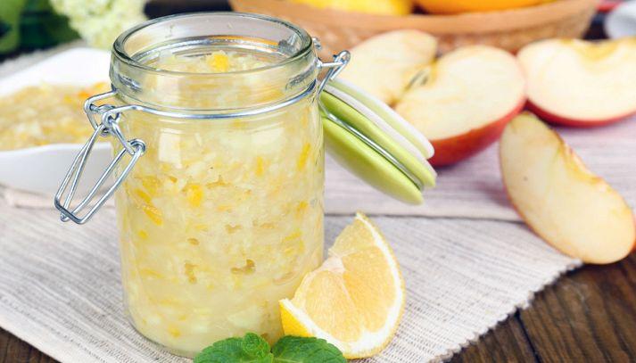 Marmellata di limoni e mele