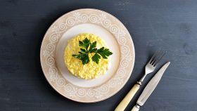 Risotto Mimosa, un piatto spettacolare per bocca e occhi