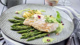 Un secondo piatto di pesce delicato e raffinato