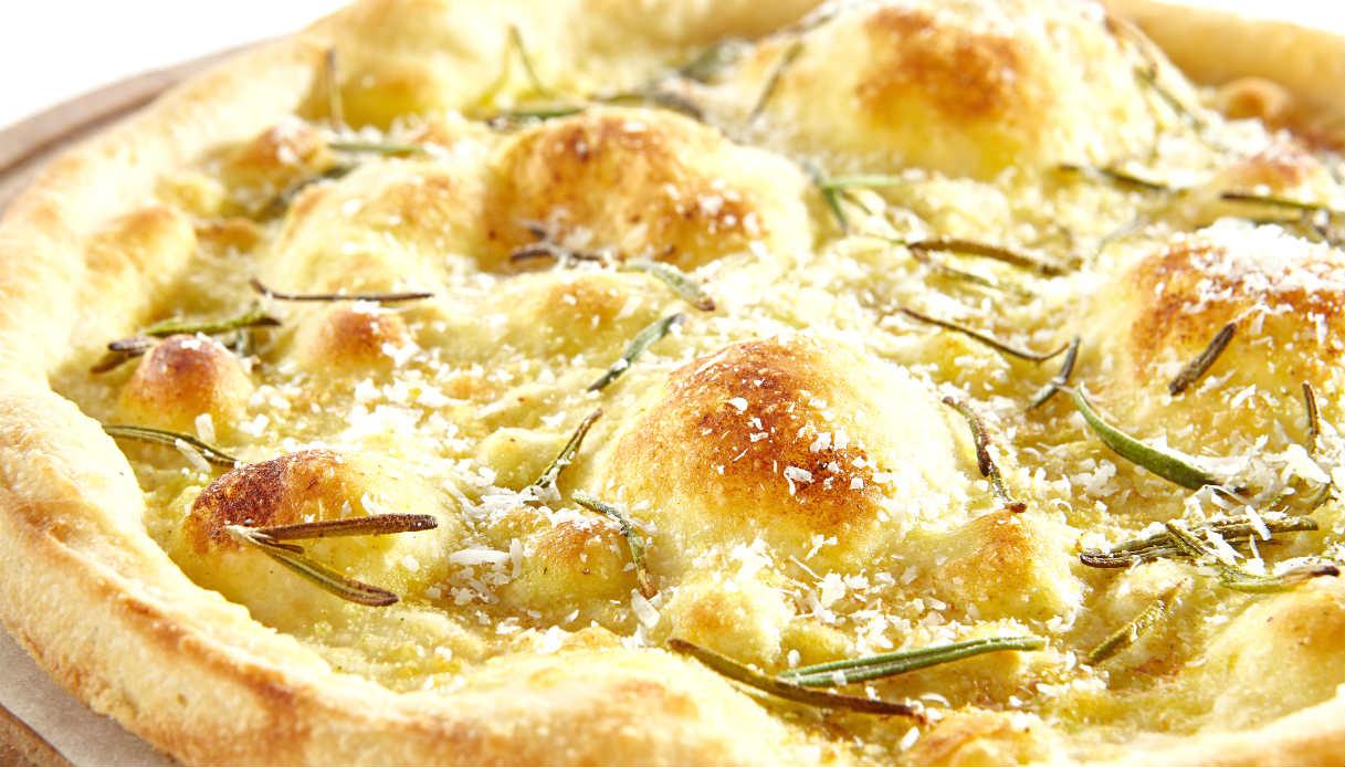Ricetta Pizza Bianca.Ricetta Pizza Bianca Le Ricette Di Buonissimo