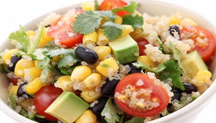 Insalata di riso e quinoa