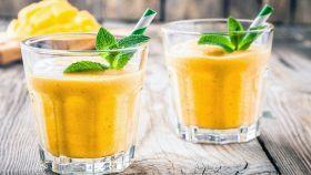 Frullato di mango e noci