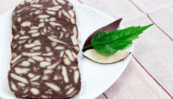 Ricetta Salame Di Cioccolato Senza Uova Fatto In Casa Da Benedetta.Ricetta Salame Di Cioccolato Senza Uova Le Ricette Di Buonissimo