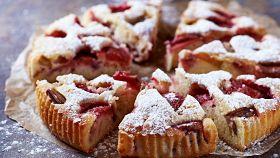 Per una dolce pausa, soffice torta alle fragole