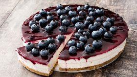 Cheesecake ai mirtilli di nonna Clementina