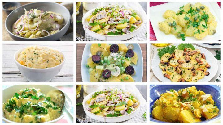 Le 10 migliori insalate di patate da preparare in anticipo