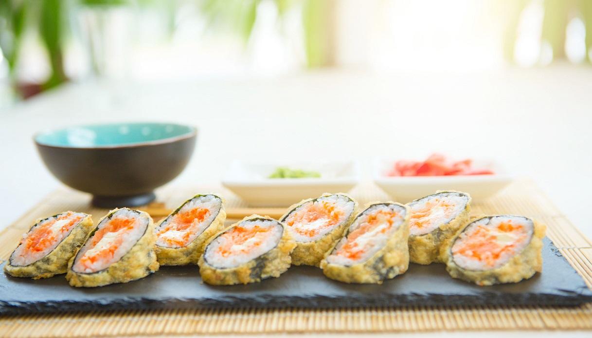 Ricetta Sushi In Tempura.Ricetta Futomaki Fritto Le Ricette Di Buonissimo