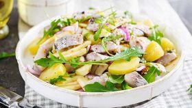 Insalata di patate alle aringhe