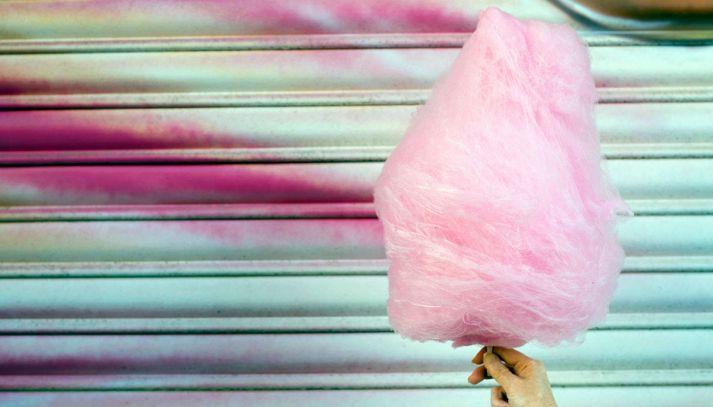 Zucchero filato fatto in casa