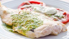 Filetti di merluzzo al basilico