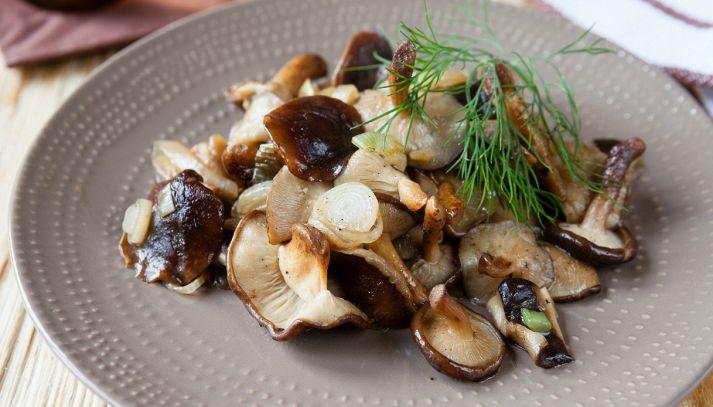 Funghi shiitake trifolati