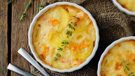 Gratin di zucca e patate