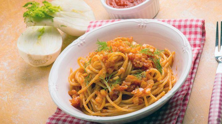 Un sughetto leggero e sfizioso per condire gli spaghetti