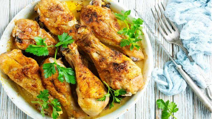Cosce di pollo al forno con limone e paprika, sublimi