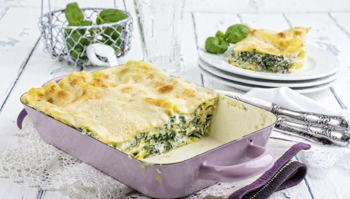 Ricetta Lasagne E Spinaci.Ricetta Lasagne Di Spinaci Le Ricette Di Buonissimo