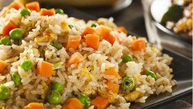 Il riso saltato leggero e appetitoso