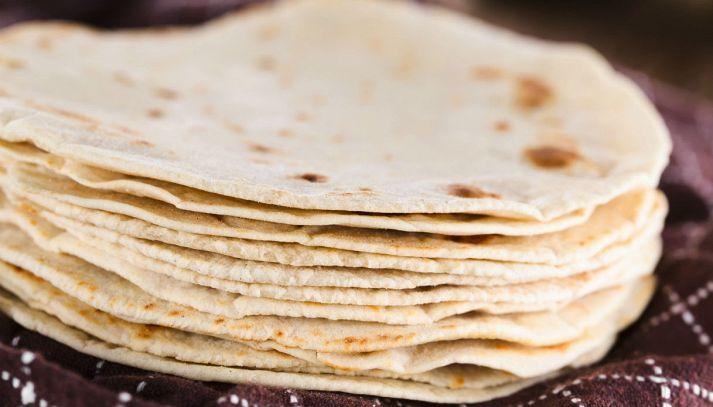 Tortilla fatta in casa (senza lievito)