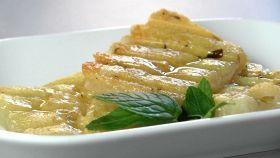 Con origano, menta e olio il pecorino alla piastra è delizioso