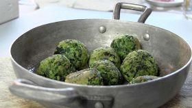 Polpette al forno con ricotta e spinaci