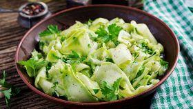 Senza cottura, leggere e buonissime con limone e prezzemolo