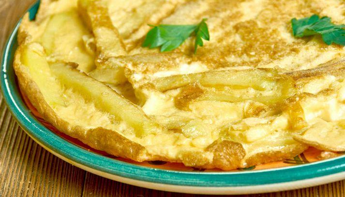 Frittata al forno con mozzarella e patate