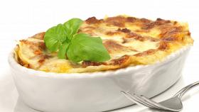 Lasagne alla greca con feta e zucchine