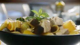 Melanzane, tonno e menta per una ricetta saporita e leggera