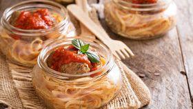 Il primo piatto preferito da Lilli e il Vagabondo in mono porzione