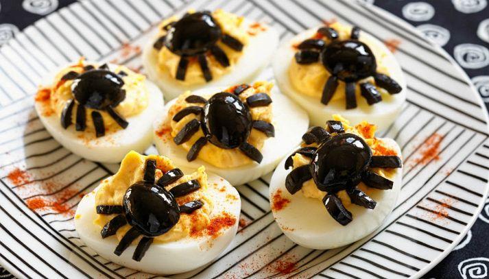 Uova alla diavola con ragno