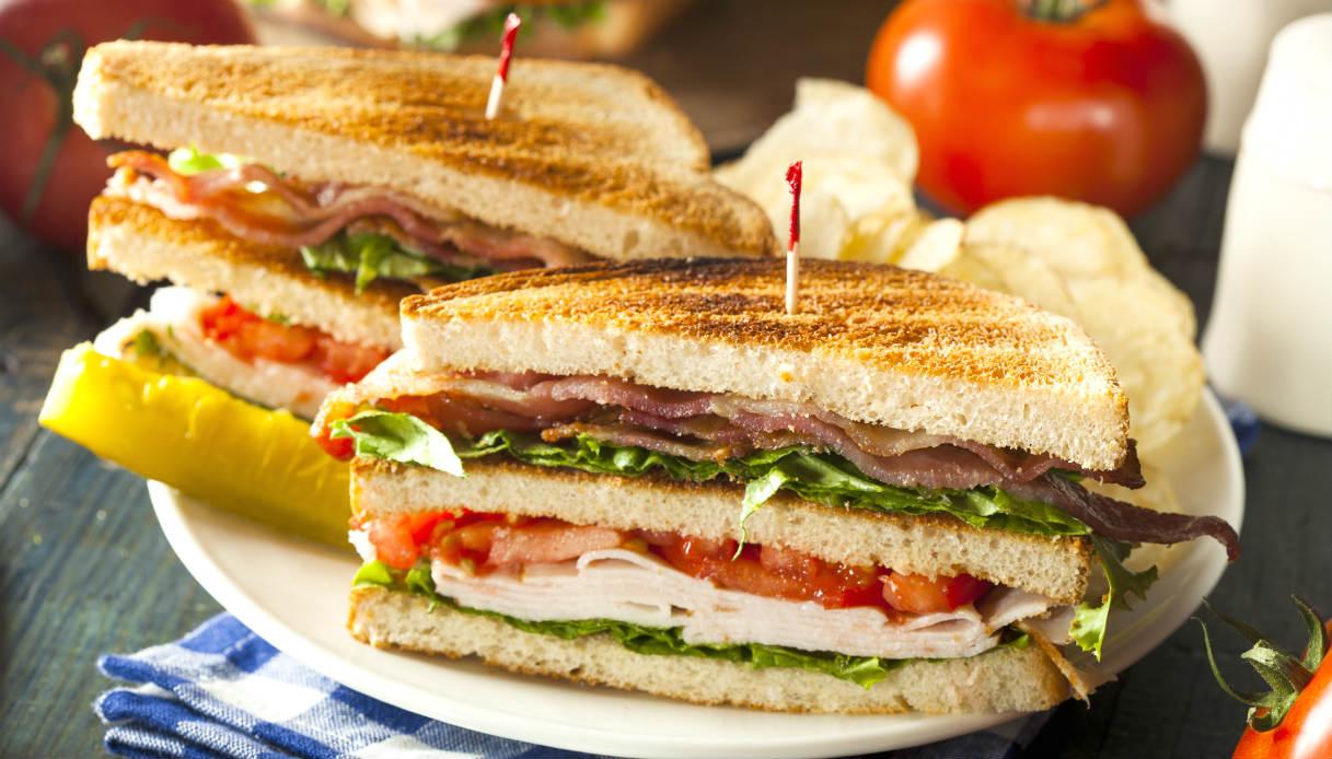 Ricetta Club Sandwich Le Ricette Di Buonissimo