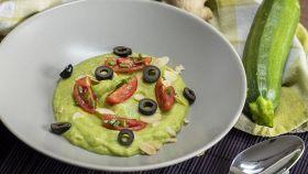 Vellutata di zucchine e avocado