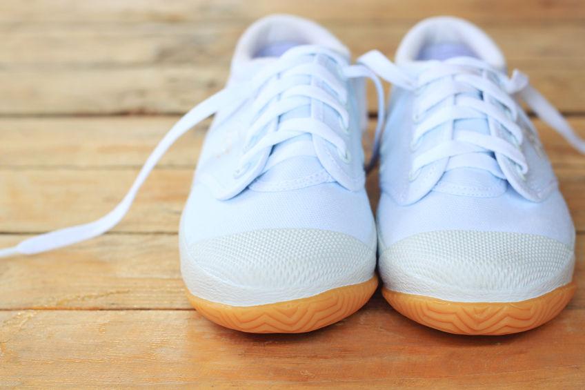 Come sbiancare le scarpe da ginnastica
