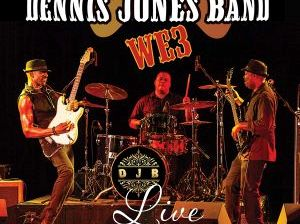 Un classico power trio di grande potenza: Dennis Jones Band, WE3 Live