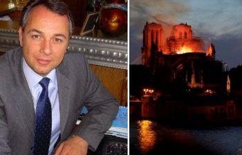 Incendio a Notre-Dame, il complottista: «È l'11/9 francese, ma diranno che è un incidente»