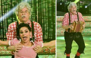 Razzi diventa il nonno di Heidi, ma la giuria di Ballando lo boccia
